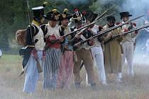 Ve Sloupě bojovala koaliční vojska s vojáky císaře Napoleona