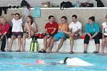 UŽ PO OSMNÁCTÉ. Vodní záchranáři otestovali svoji fyzičku při závodě Blanenská dvěstěpadesátka.