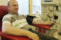 V boskovické nemocnici mají v registru zhruba čtrnáct set pravidelných dárců krve. Ti dohromady absolvují pět tisíc odběrů ročně.