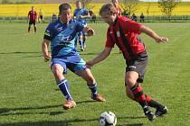 Fotbalisté Vilémovic porazili v derby Černou Horu 2:1.