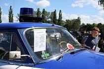 Den s Policií zaplnil areál atletického stadionu ASK Blansko.