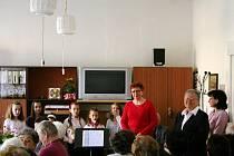 Oslavy třicátého výročí založení Městského klubu důchodců v Letovicích.