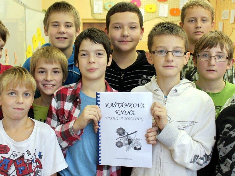 Děti napsaly knihy pro spolužáky.
