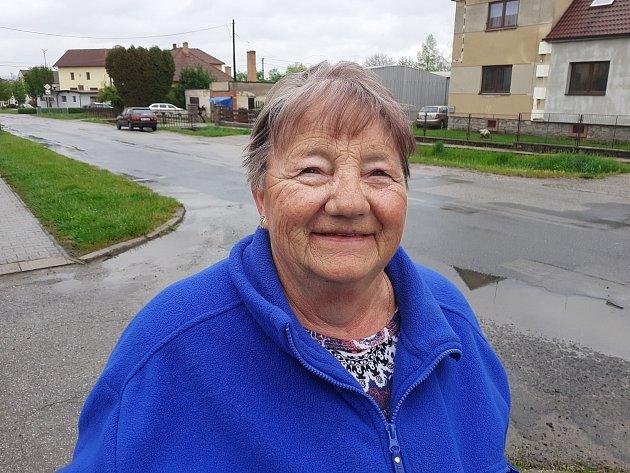 Libuše Přibylová, 69let, vdůchodu.