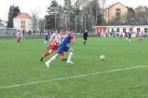 Fotbalisté Blanska remizovali se Starou Říší 1:1. Ve středu v 17.00 hrají doma s Mutěnicemi.