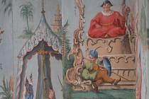 Na zámku ve Vranově představí letos obrovský paraván