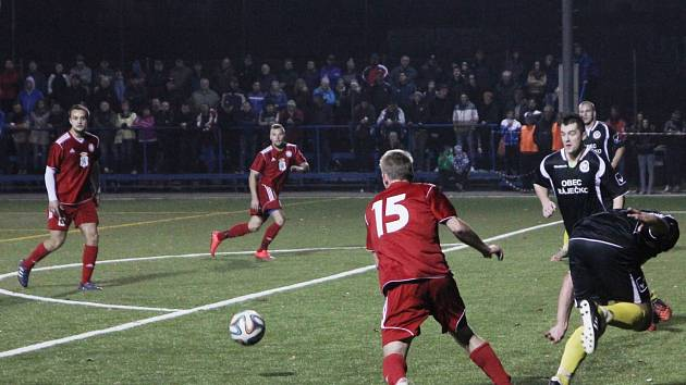 Fotbalisté Boskovic remizovali s Ráječkem 2:2.