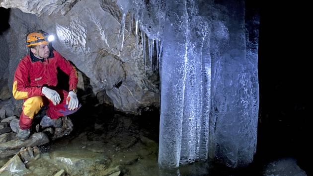 Podzemí v Moravském krasu. Ilustrační foto.
