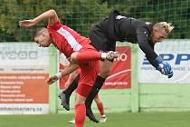Fotbalisté Blanska za sebou mají nepovedený duel v Líšni.
