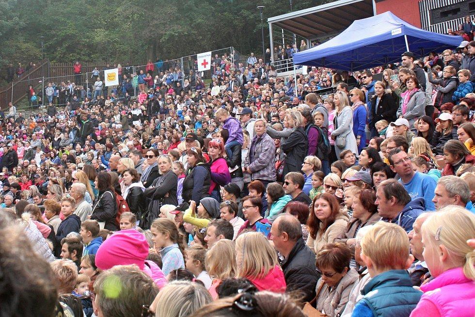 Na patnácté Husí slavnosti do Boskovic vyrazily tisíc lidí.