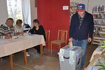 Volby do krajského a obecního zastupitelstva v Újezdu u Černé Hory 2012.