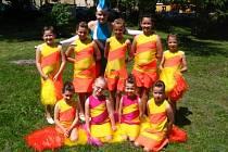 Taneční skupina Tropic reprezentovala Adamov na soutěži v Litovli.