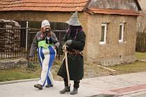 Průvodem a maškarní zábavou pro dospělé i karnevalem pro děti oslavili masopust v Benešově. Foto: Jiří Vaněrek