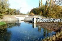 Povodí Moravy opravilo vodní nádrž Borotín II.