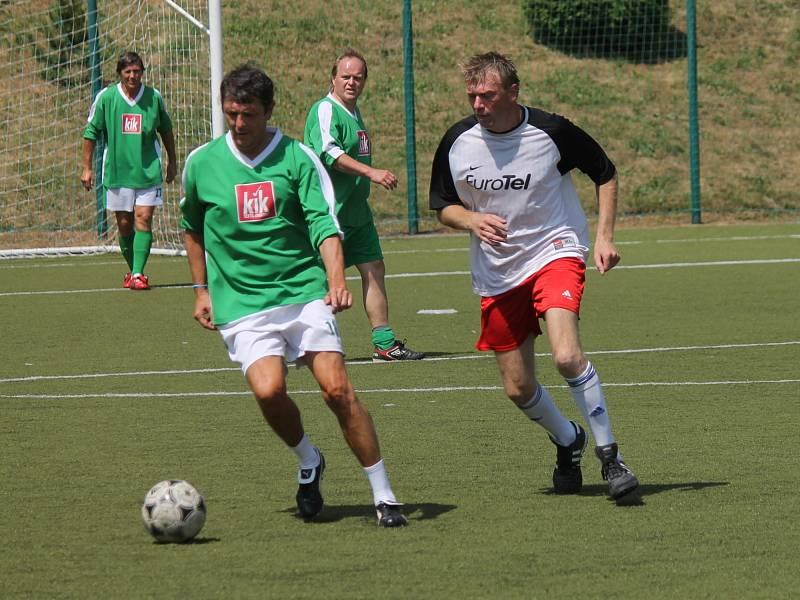 Fotbalový Memoriál Miloše Hlaváčka – Nobica cup vyhrál v Boskovicích tým Nobica.