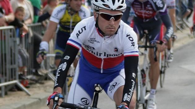 Těchovský cyklista Martin Mareš.