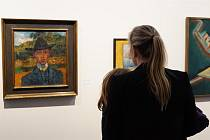 V Muzeu regionu Boskovicka vystavují obrazy malíře Otakara Kubína.