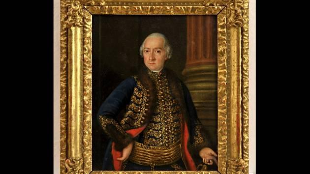Portrét uherského magnáta Jana Nepomuka Csákyho objevila rakouská policie.