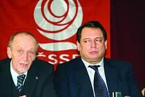 Krajské konference ČSSD v Blansku se účastnil i předseda strany Jiří Paroubek.