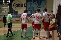 Futsalisté FPO Blansko při derby s Kotvrdovicemi.