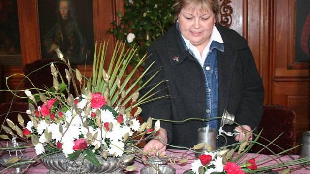 Výstava kamélií v zámku v Rájci-Jestřebí