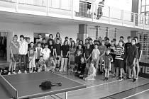KONEC SEZONY. Mladí stolní tenisté odehráli v Kunštátě poslední bodovací turnaj.