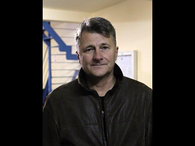 Trenér hokejistů Blanska Zdeněk Grünwald.