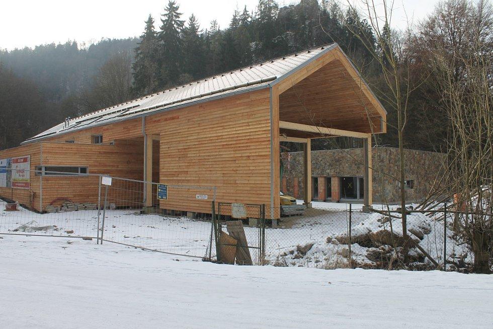 Dům přírody Moravského krasu nabídne stálé expozice, 3D kino, hernu a mnoho dalších služeb.