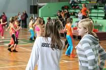 Dvanáctý ročník regionální soutěže Aerobik mladých - Blansko 5. února