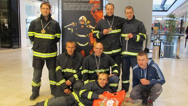 Blanenští hasiči reprezentovali Jihomoravský kraj na Mistrovství republiky v požárním sportu.