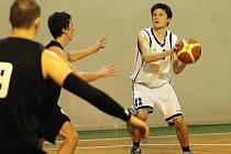Blanenští basketbalisté prohráli doma s Jiskrou Kyjov 55:64.