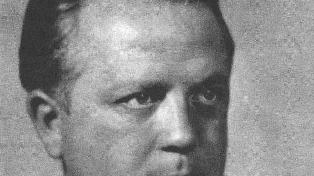 Básník František Halas.