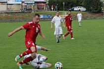 Hosté ze Žebětína to boskovickým fotbalistům usnadnili, přijeli jen v jedenácti. Domácí vyhráli 4:1.
