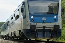 Výluka na železnici, ilustrační foto