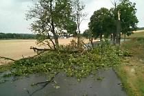 Kvůli bouřce a silnému dešti v pátek večer a v noci vyrazili hasiči z Blanenska skoro třicetkrát do terénu. Co se týká celé jižní Moravy, výjezdů měli pětačtyřicet.