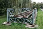 Ježkův most byl pravděpodobně postaven v 60. letech 19. století. Kdo ho vyrobil, však není známo.