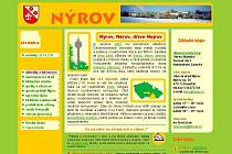 Internetové stránky obce Nýrov