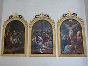Filiální kostelík Zvěstování Panny Marie ve Vážanech pochází z konce sedmnáctého století. S několika opravami zůstal v původní podobě zachován dodnes.