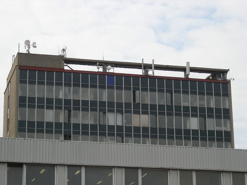Blanenská výšková budova.
