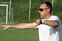 Trenér FK Blansko Zbyněk Zbořil.