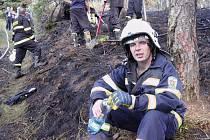 Dobrovolný hasič Miroslav Havelka zachránil už dva lidské životy. Město Blansko mu nedávno za tyto činy poděkovalo.