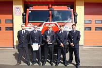 Úspěšný tým boskovických hasičů.