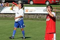Fotbalisté Boskovic vydřeli o víkendu v divizi první bod. V utkání s Pelhřimovem přitom v poločase prohrávali již 0:2. Na konečných 3:3 vyrovnával šest minut před koncem z přímého kopu boskovický matador Vorlický.