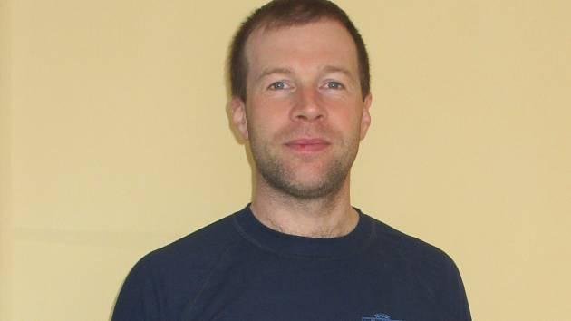 Jan Novotný z Blanska pracuje jako hradní stráž.