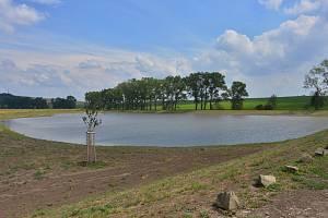 Sedm milionů. Tolik stálo vybudování rybníku a mokřadu v Kozlanech na Vyškovsku.
