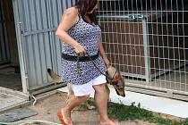 Vedoucí blanenského útulku pro psy Jarmila Jurová