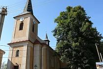 Kostel sv. Mikuláše v Bedřichově.