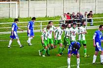 Ilustrační foto fotbalistů Rájec