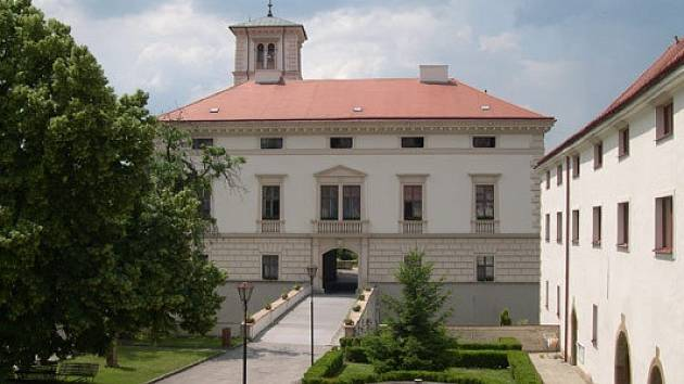 Zámek v Černé Hoře.
