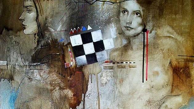Tvorba Sergeje Kulina vyniká vedle myšlenkové hloubky dokonalou technikou zpracování. V kompozici, barevnosti i motivech se prolíná historický vývoj lidstva. Sergej Kulina se věnuje také tvorbě šamotových plastik.